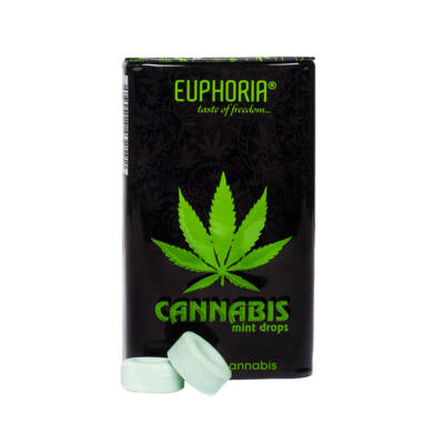 Euphoria Cbd Tartalmú Cukor Mentol, 25 g