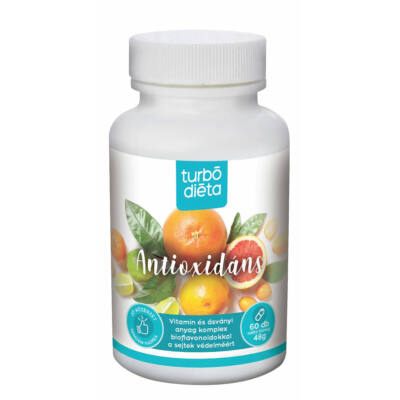 Turbó diéta Antioxidáns kapszula 60 db