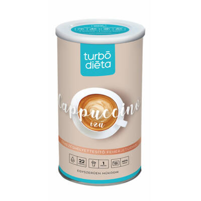 Turbó Diéta fehérje turmixpor enzimmel cappucinós 525 g