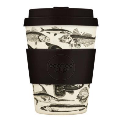 Ecoffee Cup hordozható kávéspohár - Tolondo Fishman, 340 ml