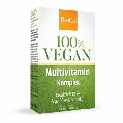 Bioco vegan multivitamin komplex tabletta 30 db
