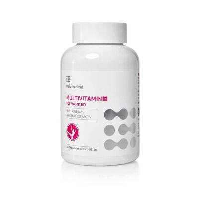 USA MEDICAL Multivitamin for Women, 60db