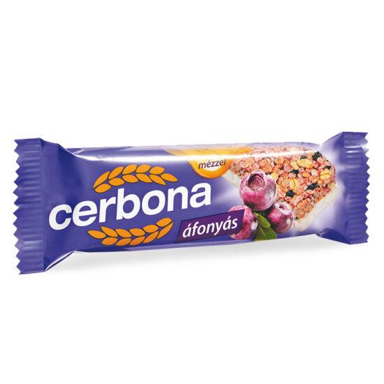 Cerbona szelet áfonyás joghurtos bevonattal 20 g