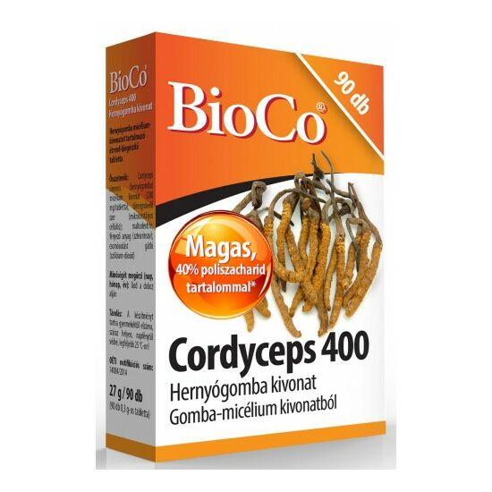 BioCo Cordyceps 400 Hernyógomba kivonat 90 db tabletta