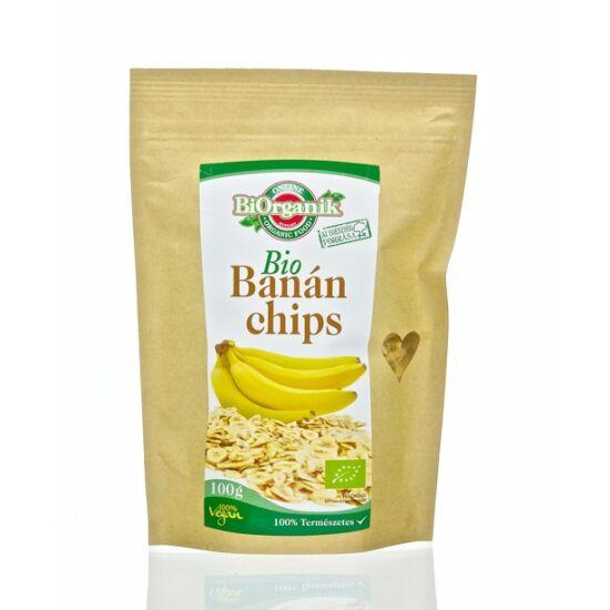BiOrganik bio banánchips 100 g