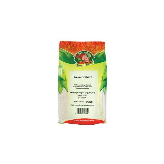Vegabond Barna rizsliszt 500 g