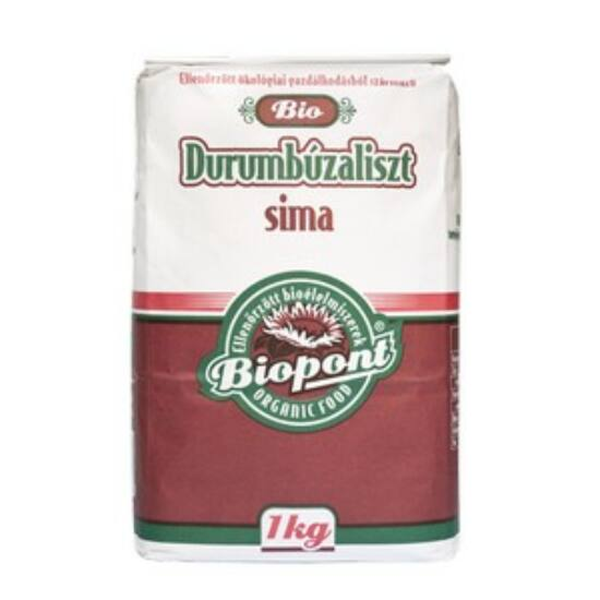 Biopont bio durumbúzaliszt sima 1 kg
