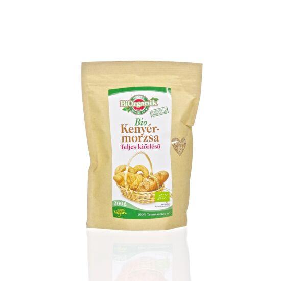 BiOrganik bio teljes kiőrlésű kenyérmorzsa 200 g