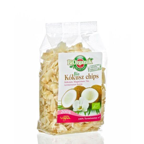 BiOrganik bio kókusz chips pirított 200 g