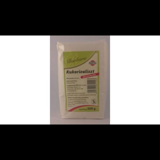 Barbara Gluténmentes Kukoricaliszt 500 g