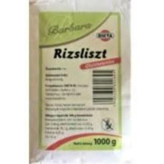 Barbara Gluténmentes Rizsliszt 1000 g