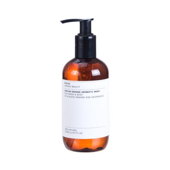 Evolve Organic Beauty Afrikai narancs – folyékony szappan és tusfürdő 250 ml