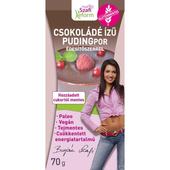 Szafi Reform Csokoládé ízű pudingpor édesítőszerrel 70 g
