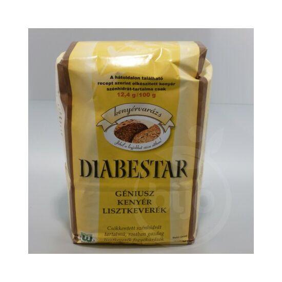 DIABESTAR Géniusz kenyér lisztkeverék 1000 g
