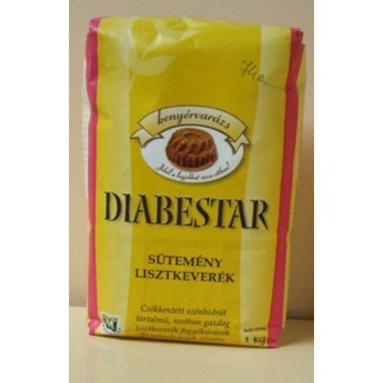 DIABESTAR Sütemény lisztkeverék 1000 g