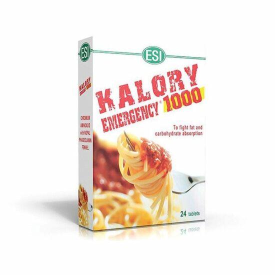 ESI Kalory emergency  Nopal alapú étvágycsökkentő és zsírmágnes 24 db