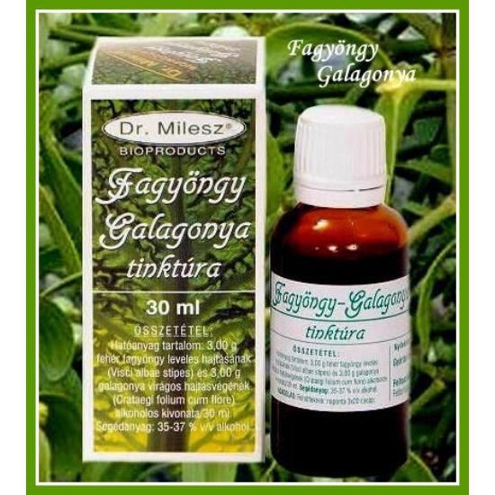 Dr. Milesz FagyöngyGalagonya tinktúra 30 ml