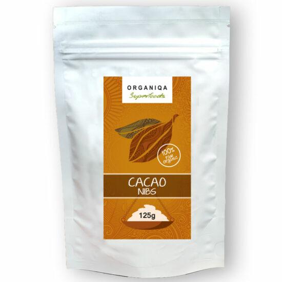 Bio nyers zúzott kakaóbab criollo 125 g Organiqa