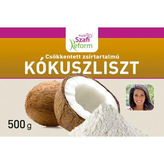 Szafi Reform Csökkentett zsírtartalmú kókuszliszt gluténmentes 500 g