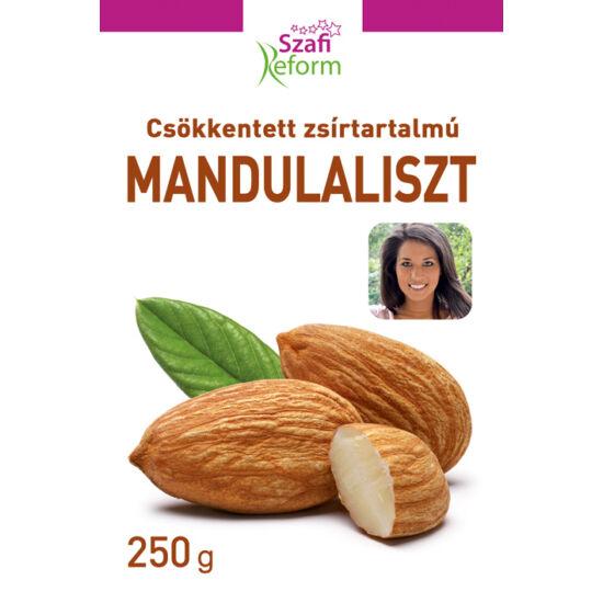 Szafi Reform Csökkentett zsírtartalmú mandulaliszt gluténmentes 250 g