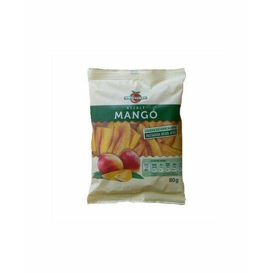 Naturfood Aszalt mangó cukor nélkül 80 g