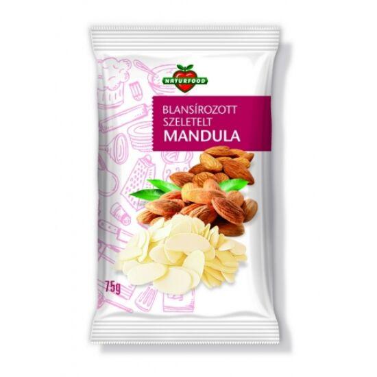 Naturfood Szeletelt mandula 75 g