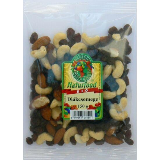 Naturfood Bio diákcsemege 150 g