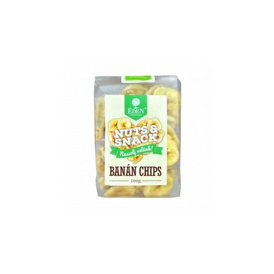 Éden Prémium Nuts Snack banánchips 100 g