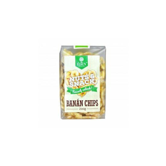 Éden Prémium Nuts Snack banánchips 200 g