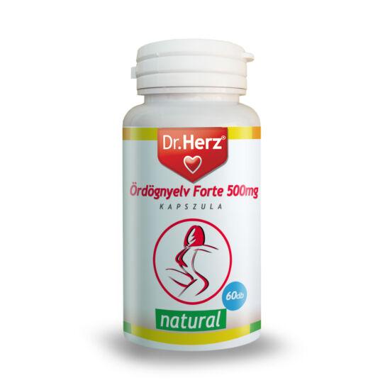 Dr. Herz Ördögnyelv Forte 500 mg 60 db kapszula