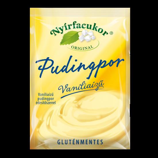 Nyírfacukor gluténmentes vanília pudingpor 80 g