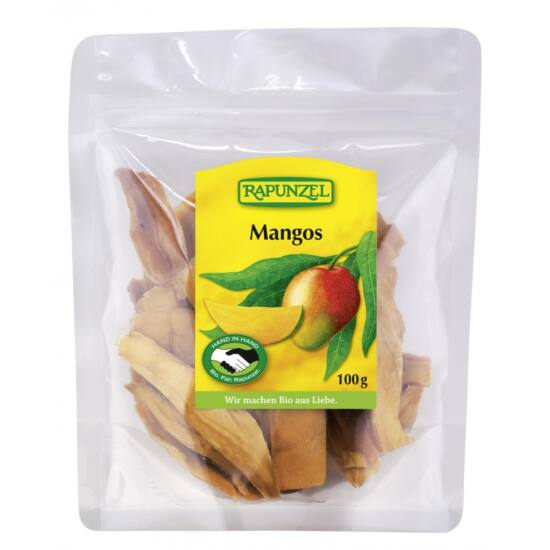 Rapunzel bio Szárított mangószeletek 100 g