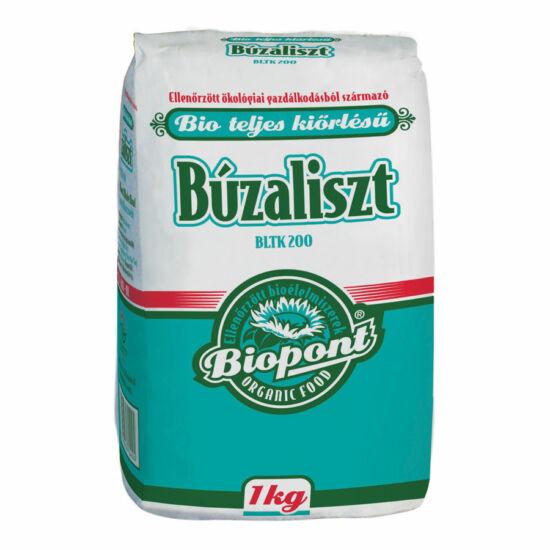 Biopont bio teljesőrlésű búzaliszt BLTK 200 1 kg