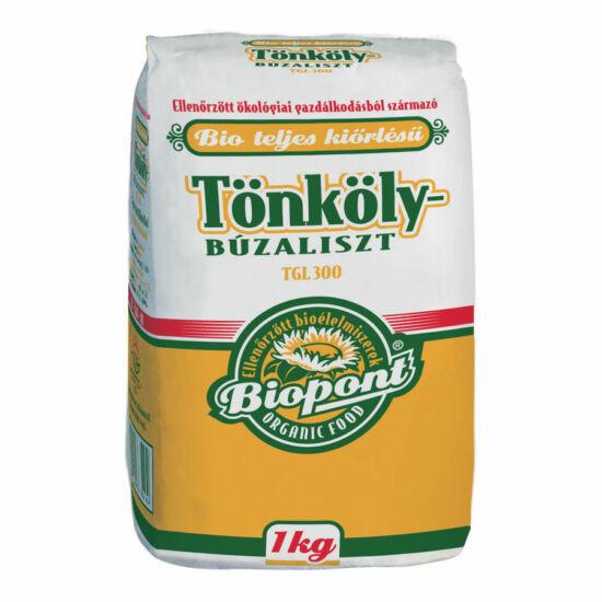 Biopont bio teljesőrlésű tönkölybúzaliszt TGL 300 1 kg