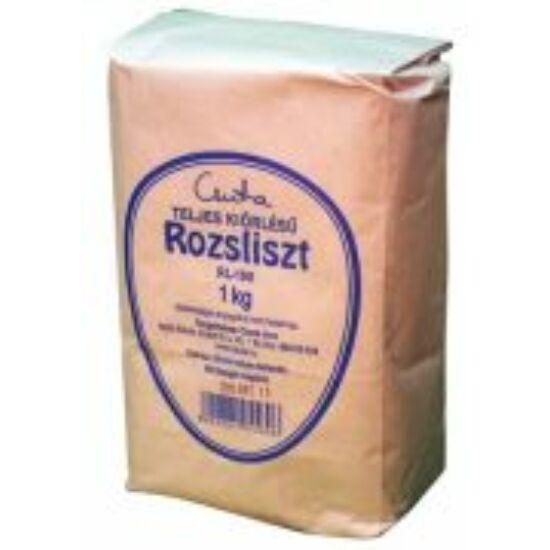 Teljes kiőrlésű rozsliszt 1 kg Csuta