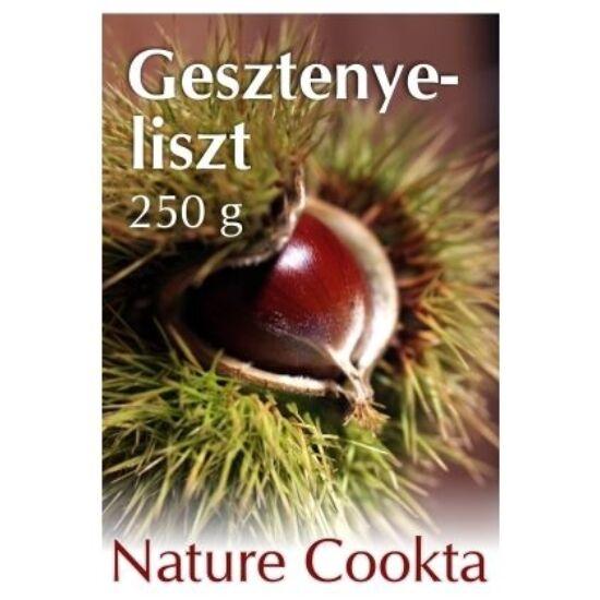 Gesztenyeliszt pellet 250 g Nature Cookta