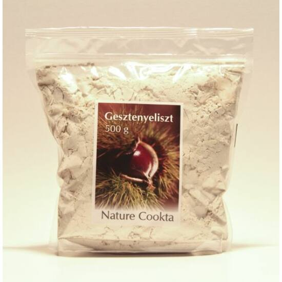 Gesztenyeliszt pellet 500 g Nature Cookta