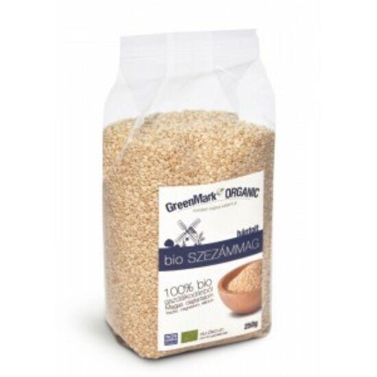 GreenMark bio hántolt szezámmag 250 g
