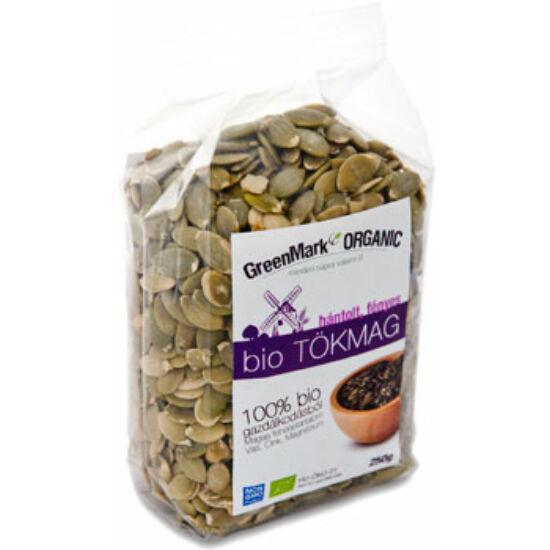 GreenMark hántolt fényes bio tökmag 250 g