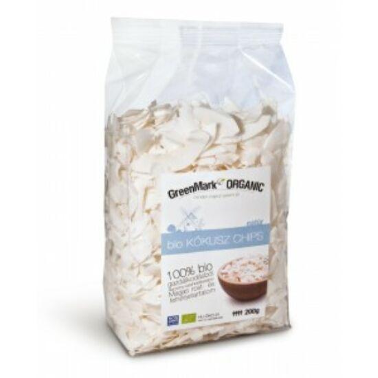 GreenMark bio kókusz chips 200 g