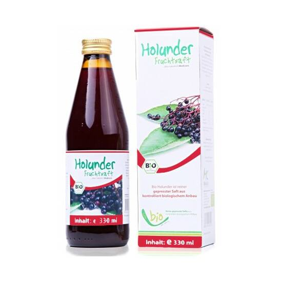 Medicura bodza 100százalékos bio gyümölcslé 330 ml