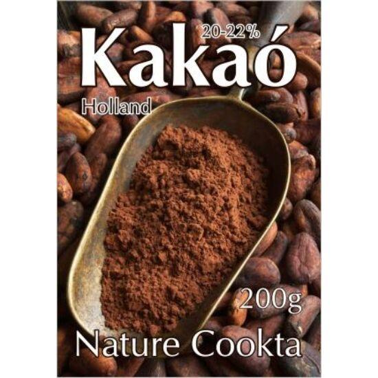 Holland kakaópor 2022százalékos 200 g Nature Cookta