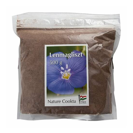 Lenmagliszt pellet 500 g Nature Cookta