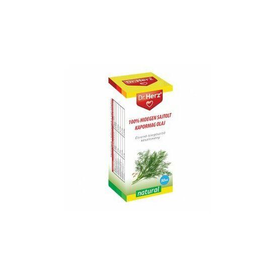 Dr. Herz hidegen sajtolt kapormag olaj 50 ml