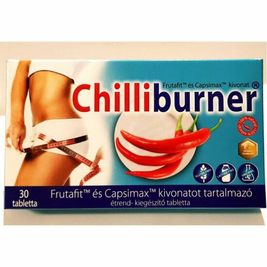 Chilliburner zsírégető tabletta 30 db