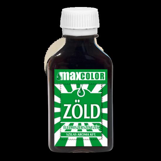 Szilas ételszinezék zöld 30 ml