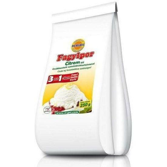 DiaWellnes fagyipor 250 g  citrom