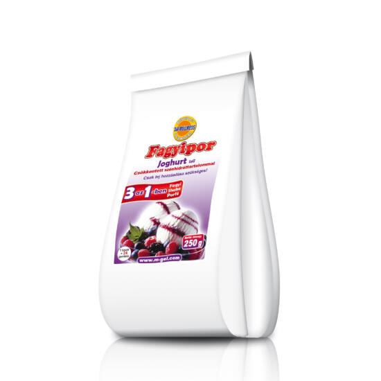 DiaWellnes fagyipor 250 g  joghurt