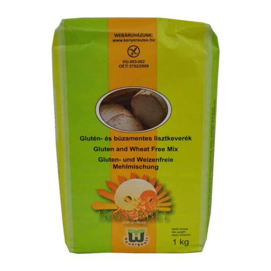 Naturbit glutén és búzamentes lisztkeverék 1000 g