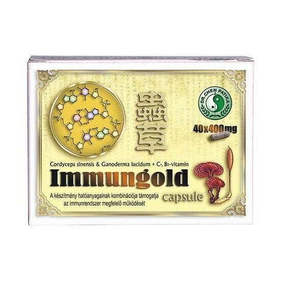 Dr. Chen Immungold ganoderma kapszula 40 db